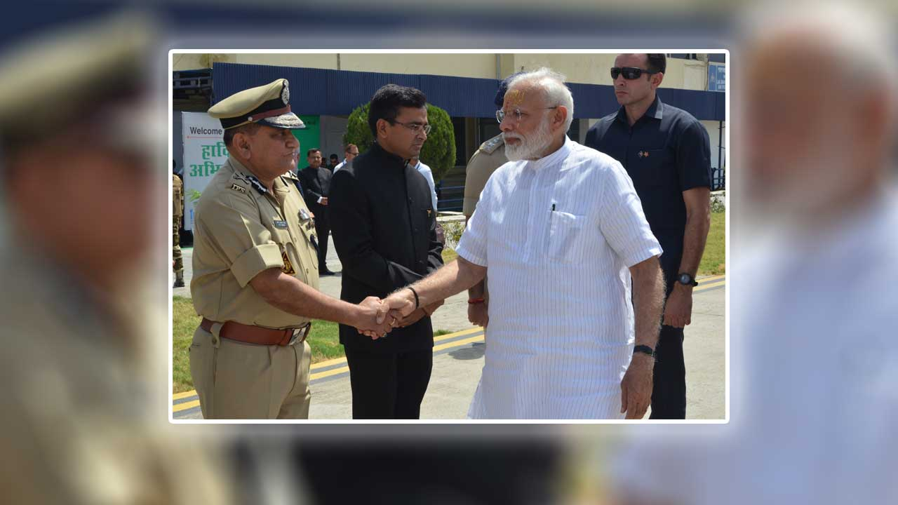 DGP, UP greeting Honorable PM